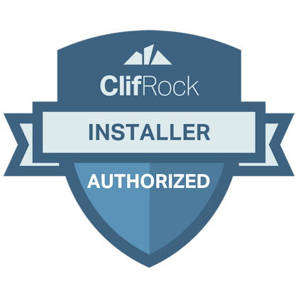 Certified ClifRock® Installer